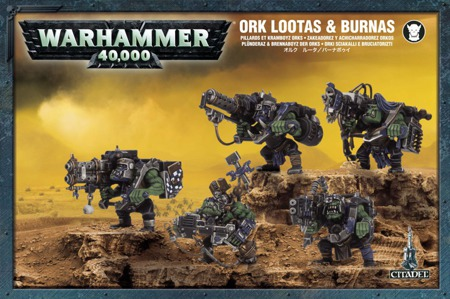 Ork Lootas and Burnas