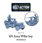 Bolt Action - US Army Willys Jeep