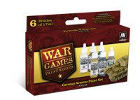 Zestaw WWII Wargames - German Armour Paint Set