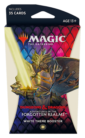 Adventure in the Forgotten Realms - White Theme Booster