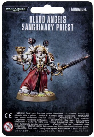 Blood Angels Sanguinary Priest