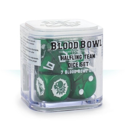 Blood Bowl: Halfling Dice Set