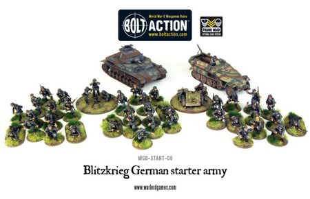 Bolt Action - Blitzkrieg German Starter Army (1000pts)