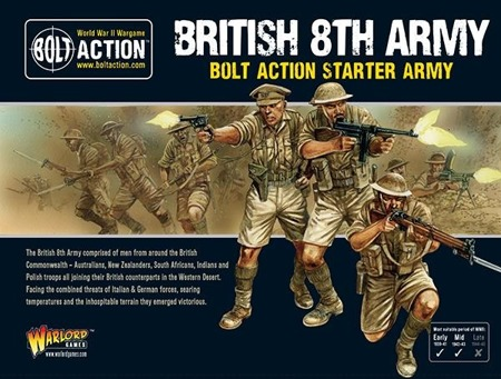 Bolt Action - British 8th Army starter army