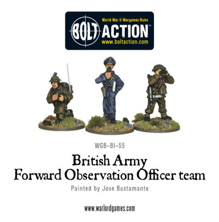 Bolt Action - British Army Forward Observer Team