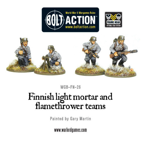 Bolt Action - Finnish Light Mortar & Flame Thrower