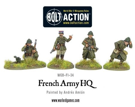 Bolt Action - French Army HQ