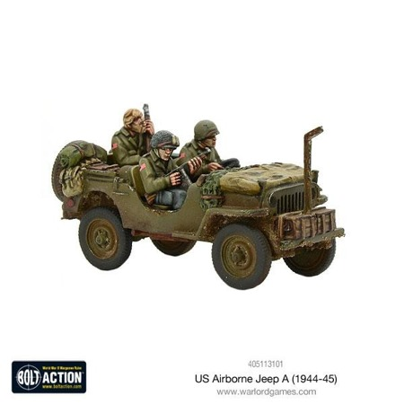 Bolt Action - US Airborne Jeep (1944-45)