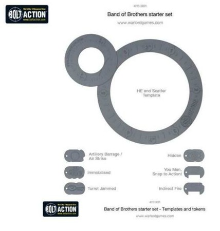 Bolt Action ed.2 - Templates and tokens