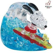 Crystal Puzzle - Snoopy Surfer