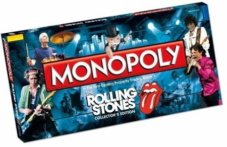 Monopoly The Rolling Stones ENG