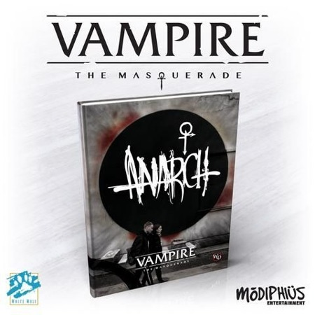 Vampire Masq Anarch HB 5th Ed.